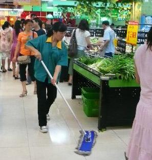[96]广州商场超市保洁